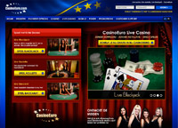 Live Blackjack Casinoeuro